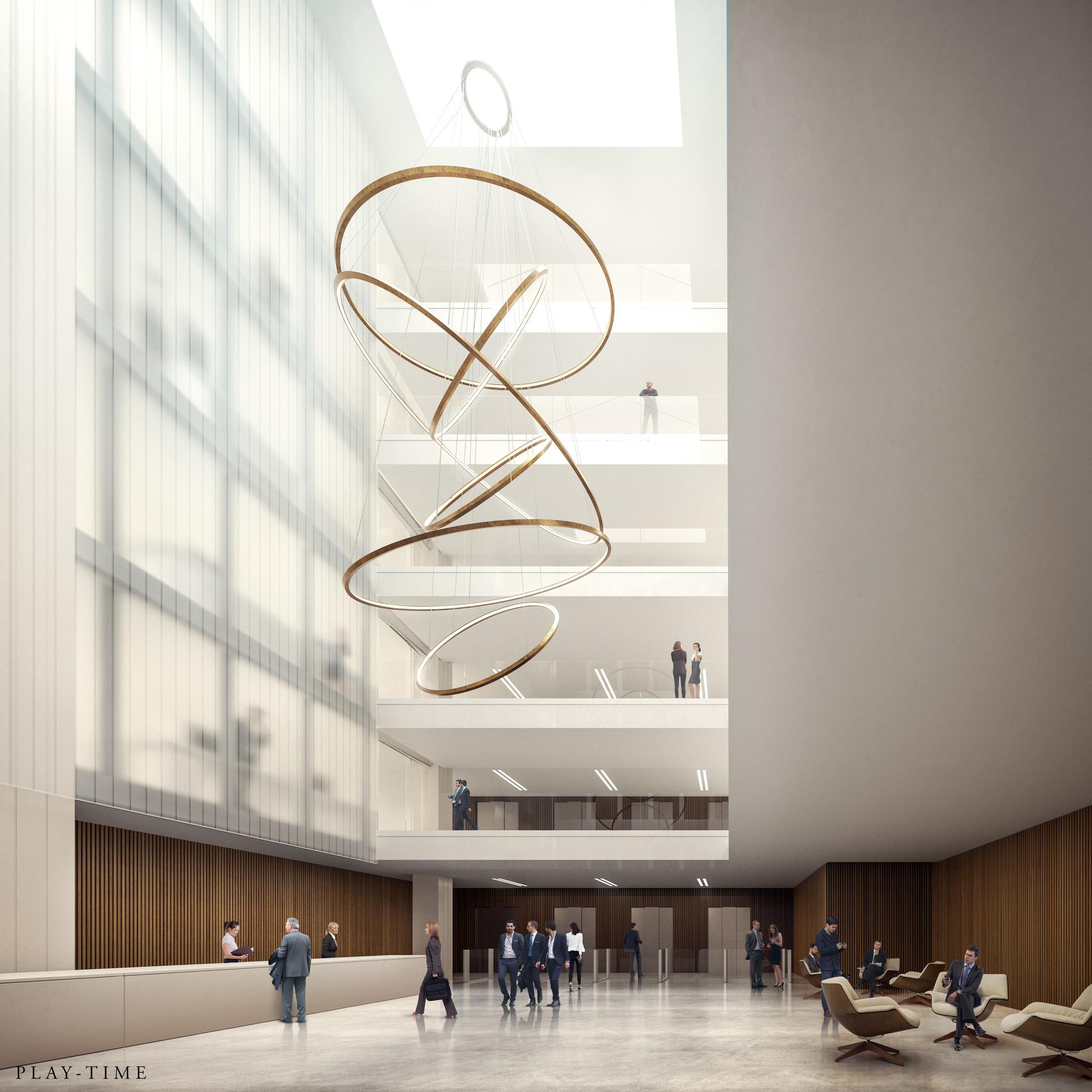 Play time architectonic image rdaa concurso rehabilitacion bureaux france 01
