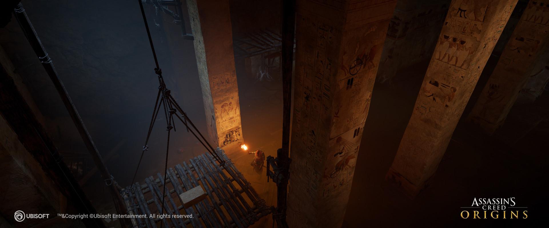 Ivet jordanova aco tmb 2 & Ivet Jordanova - Assassinu0027s Creed Origins - Tombs lighting