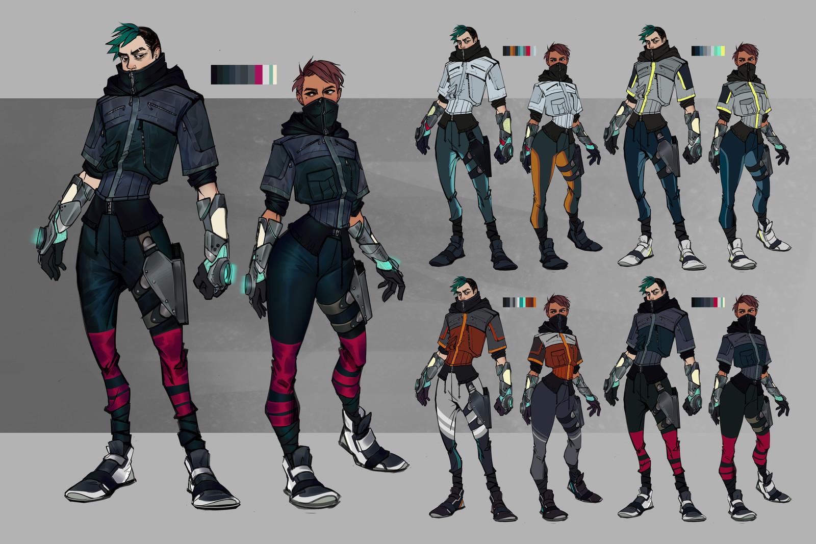 sophia manio character design