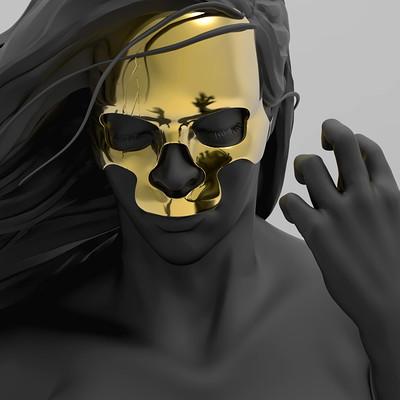 Michael miki bishop skull 04