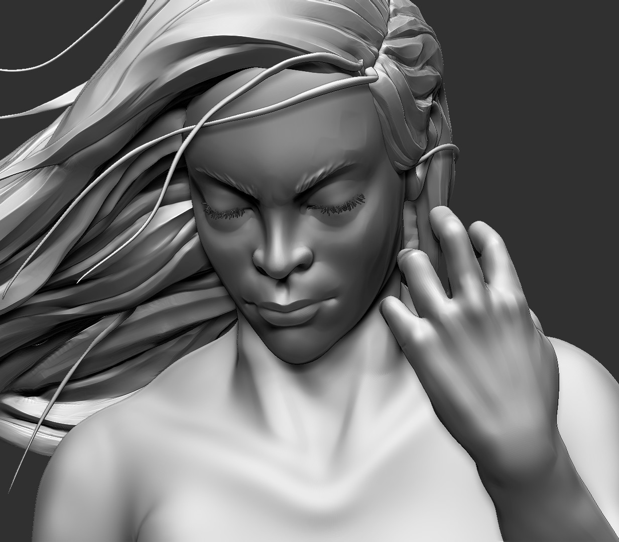 sculpting details
