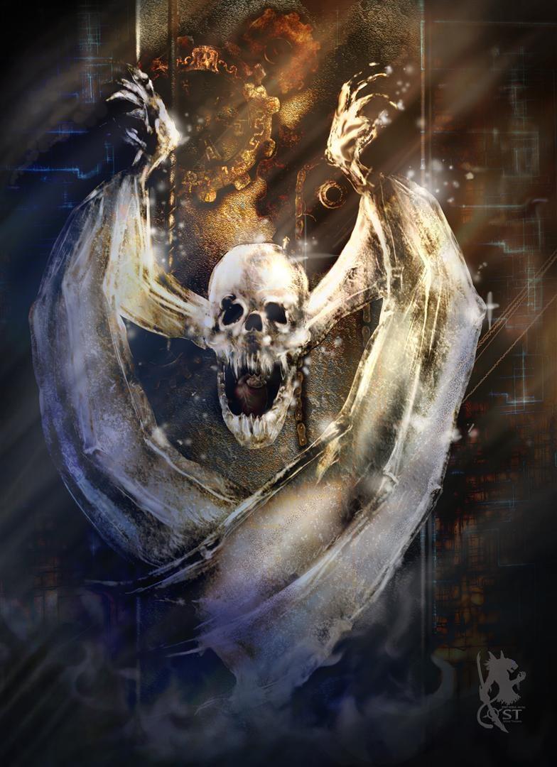 Ice  skull 冰骷顱