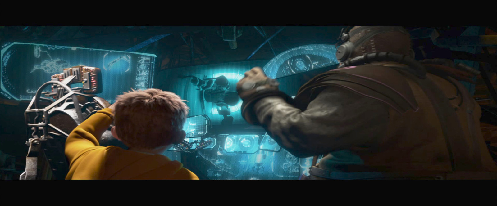 Mars Needs Moms Lighting and Compositing