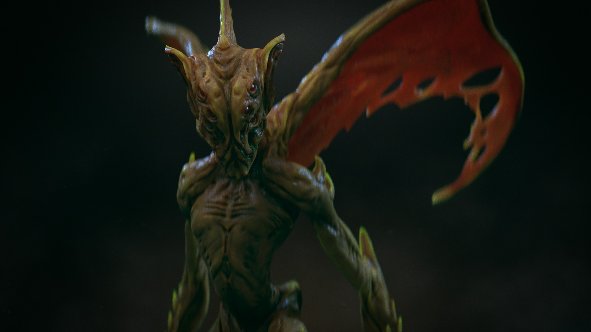 Ilhan yilmaz creature close render v02 2