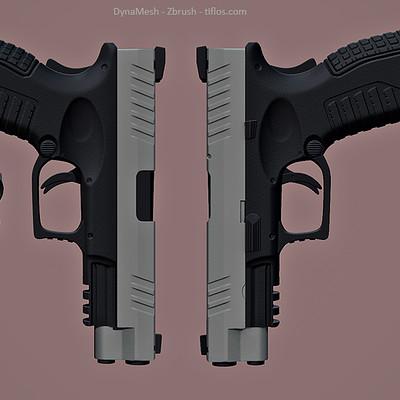 Angel gabriel diaz romero pistola zbrush screens 01