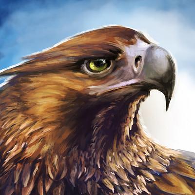 Den ovsyannikov eagle huion watermark