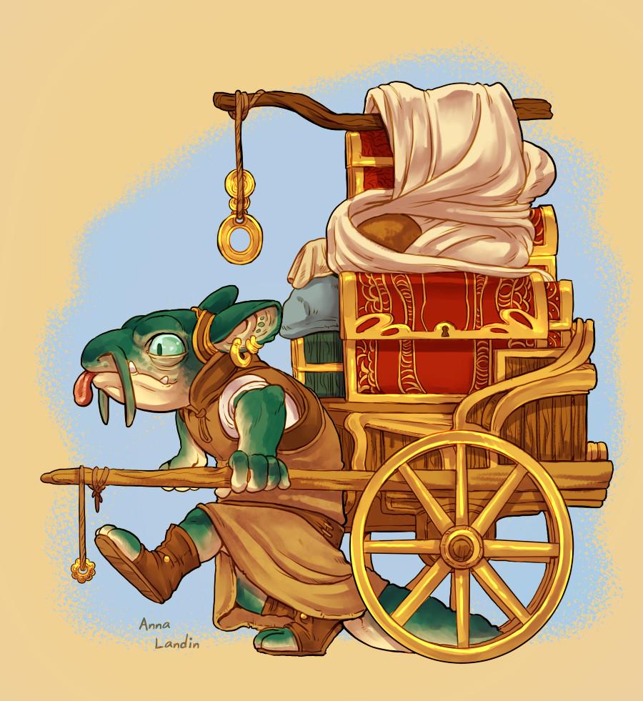 merchant on the road