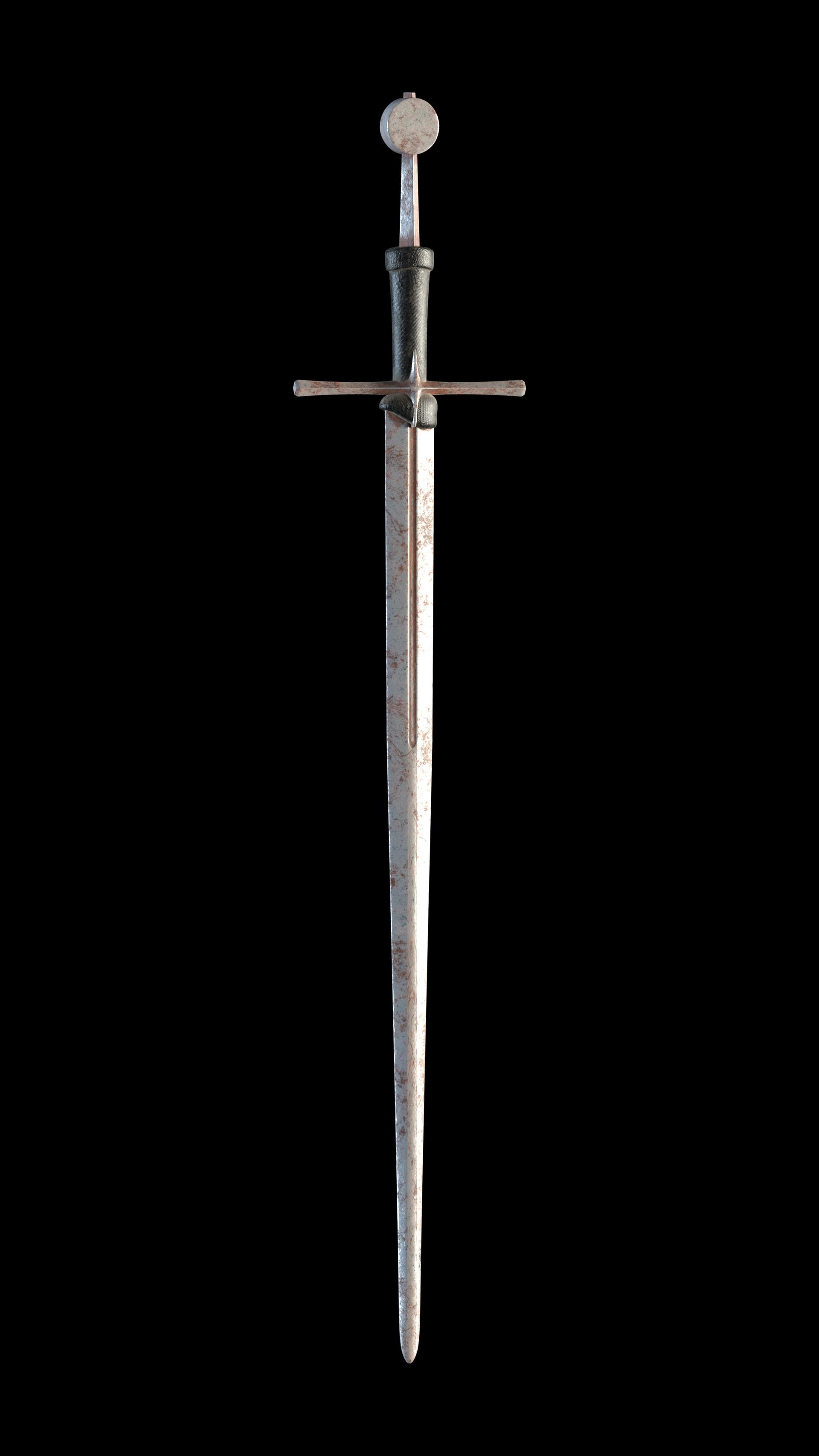 Carlos carpetudo hand and a half sword render03