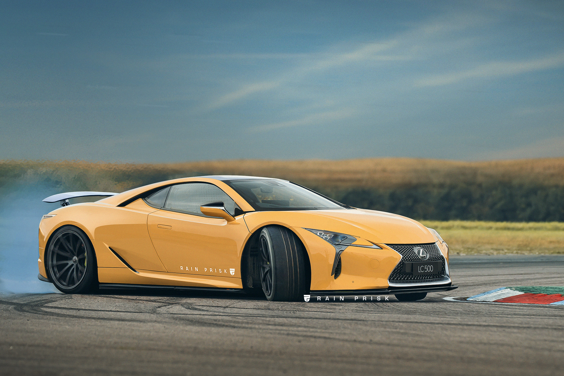 Mid engined Lexus LC