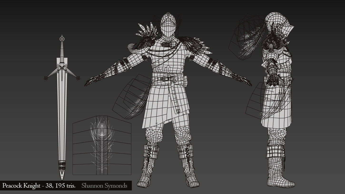 Wireframe from 3Ds Max.