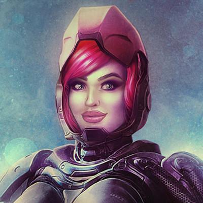 Sascha kozacenko bionic girl artwork5 small