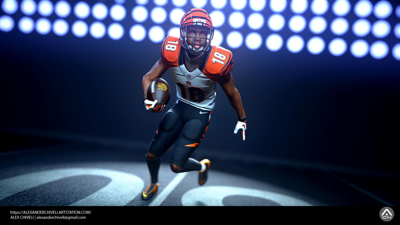 NFL Player Marmoset Beauty