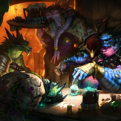 """Poisoned Game"" Dragons & Taverns"