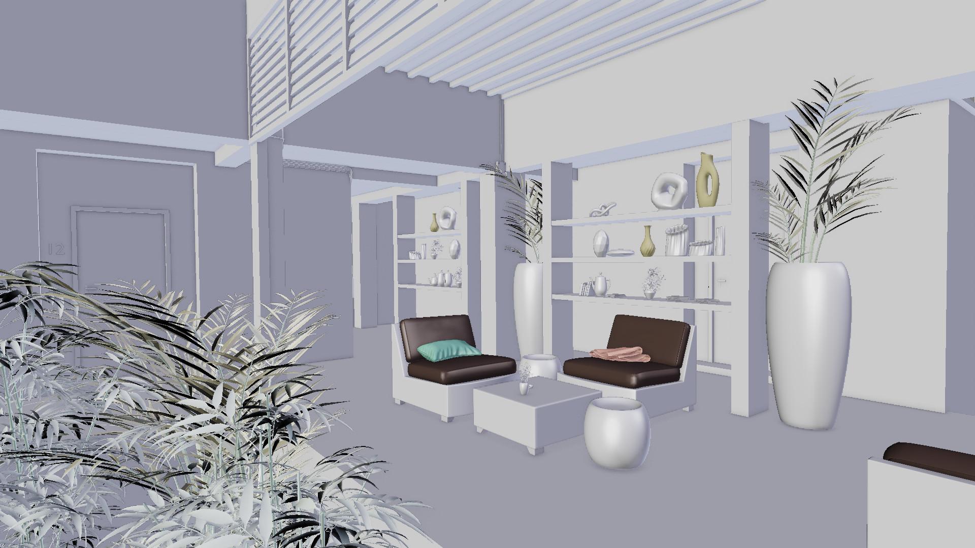 Victor duarte thai hotel render 3d