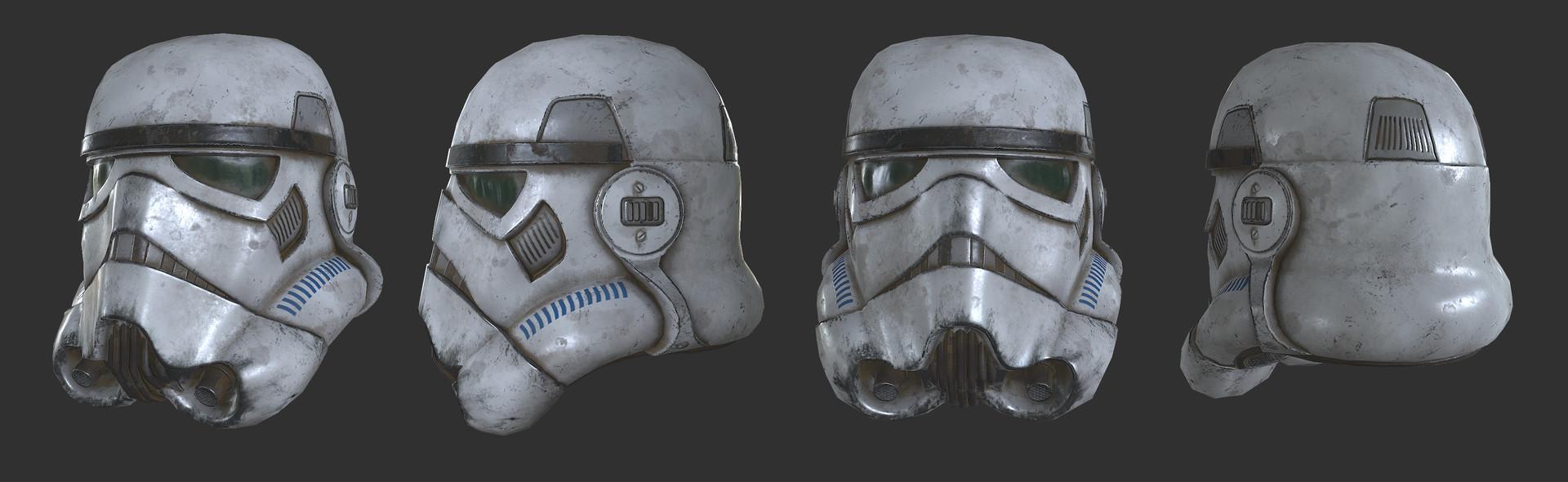 Shubham singh storm trooper helmet ss