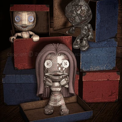 Lizzie prusaczyk d9s co lost dolls