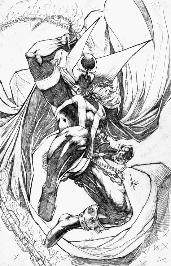 C m s dawngliana youngbully comic pencil spawn
