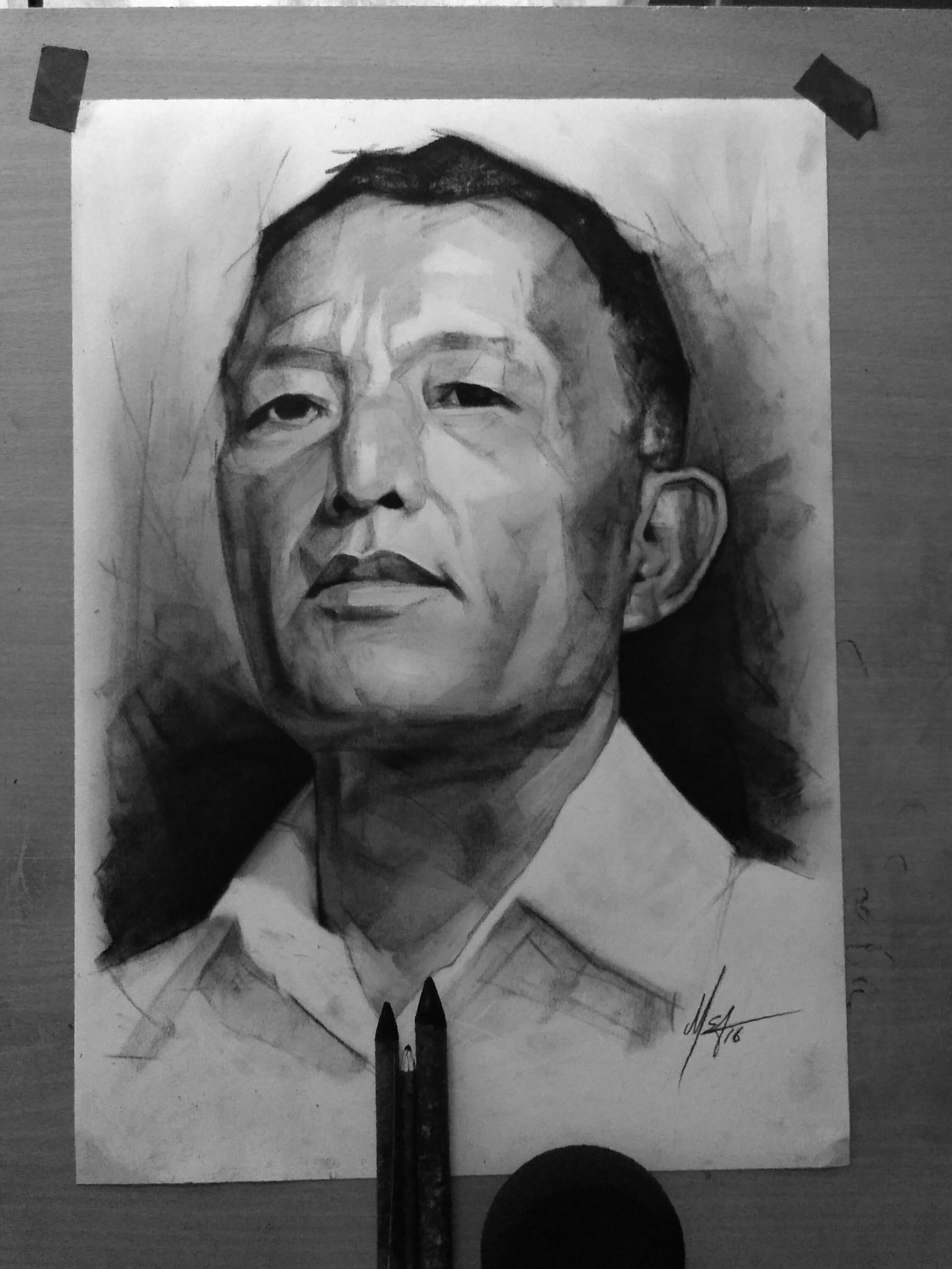 C m s dawngliana youngbully portrait charcoal2