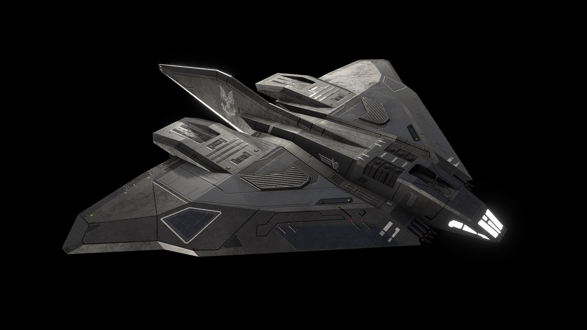 ArtStation - Sins of the Prophets: C-712 Longsword fighter