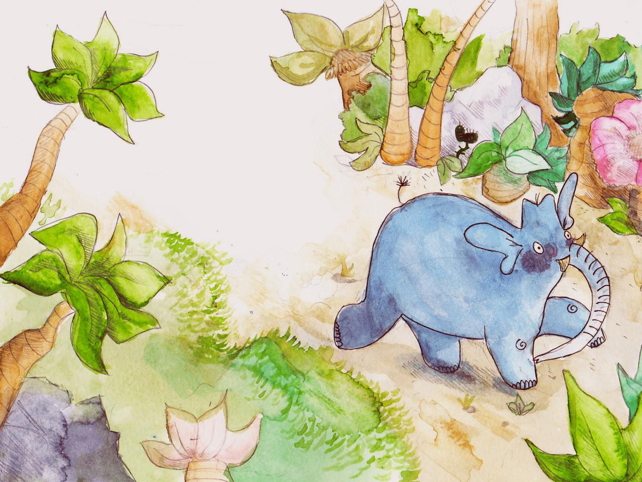 Zoe bergeret elefan