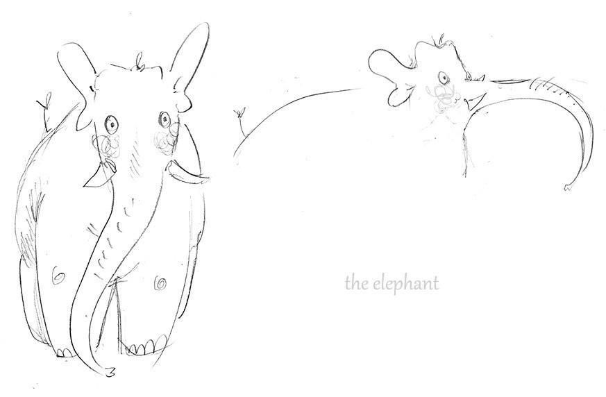 Zoe bergeret elefan2