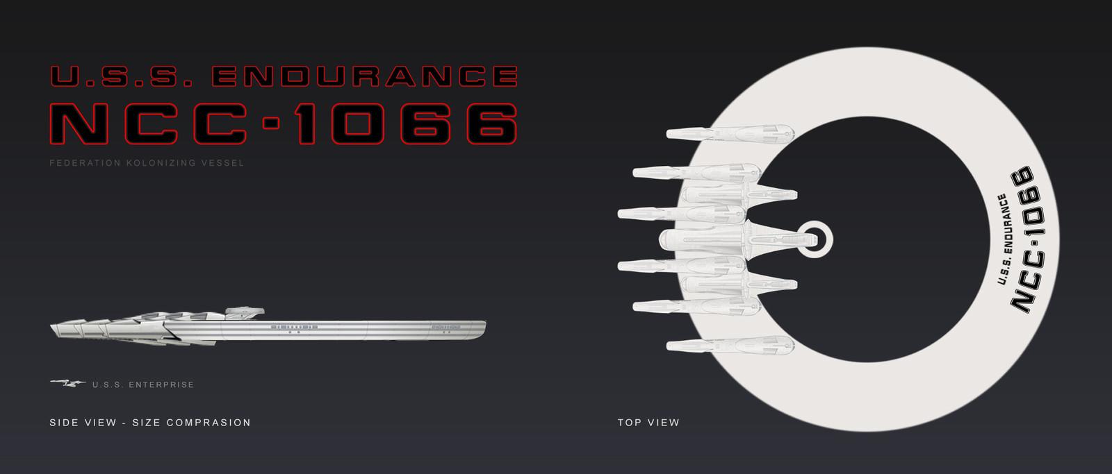 U.S.S. Endurance concept sheet