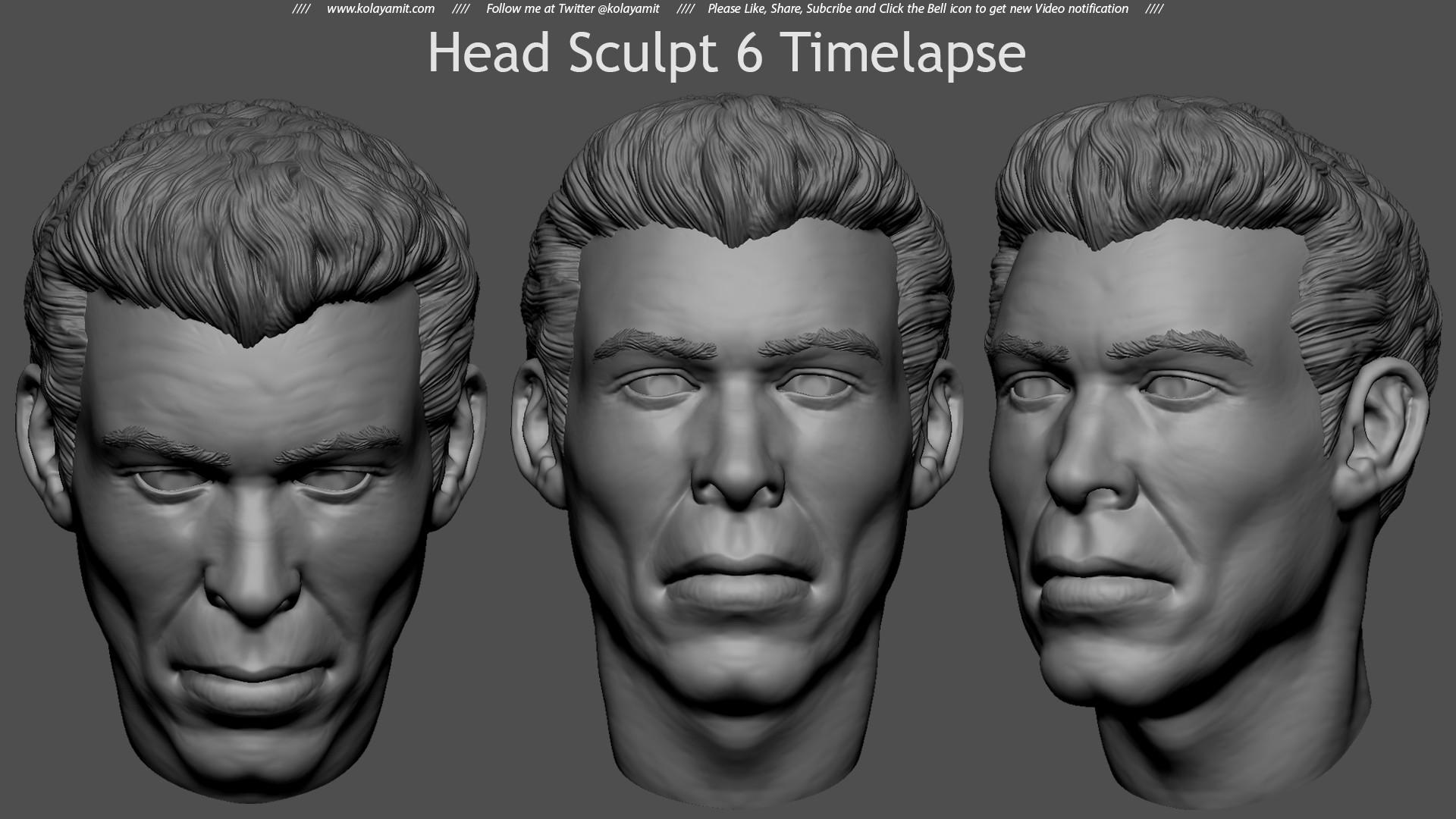 Amit kolay headsculpt6tl2