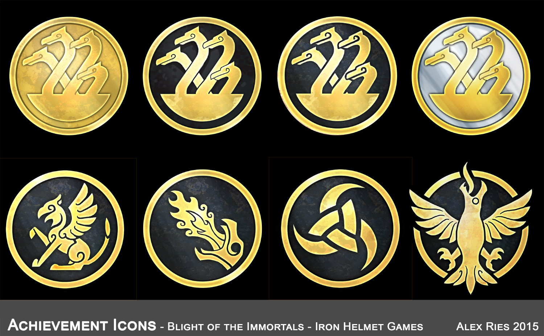 UI achievement coins