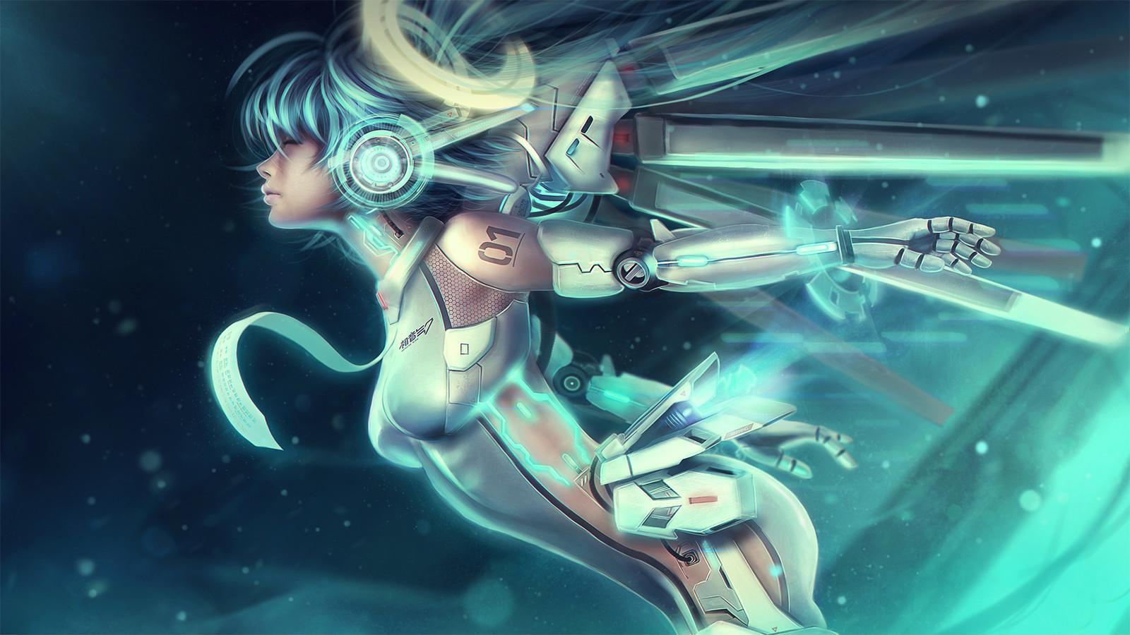Cyber Miku 01- 'Ascension'