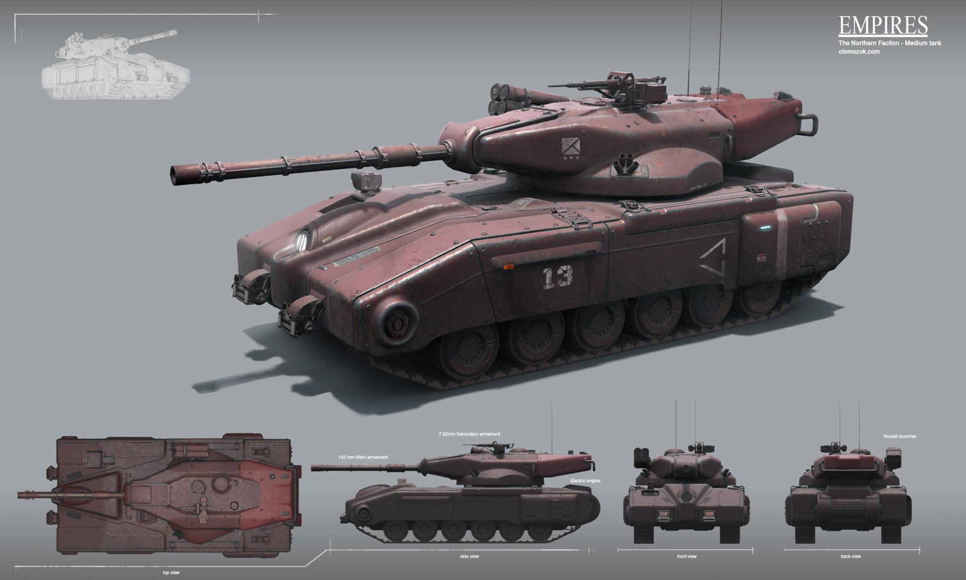 Arthur gurin nf medium tank