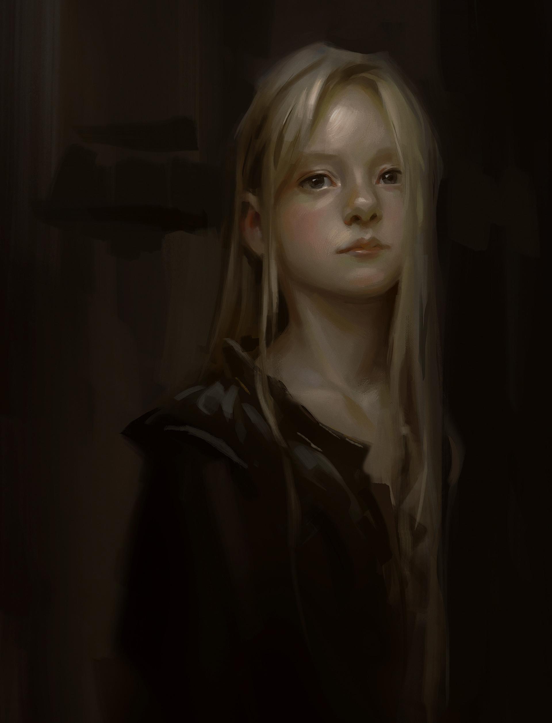 Lane brown blonde girl portriat v2
