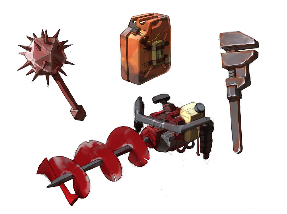 Found Object Weapons