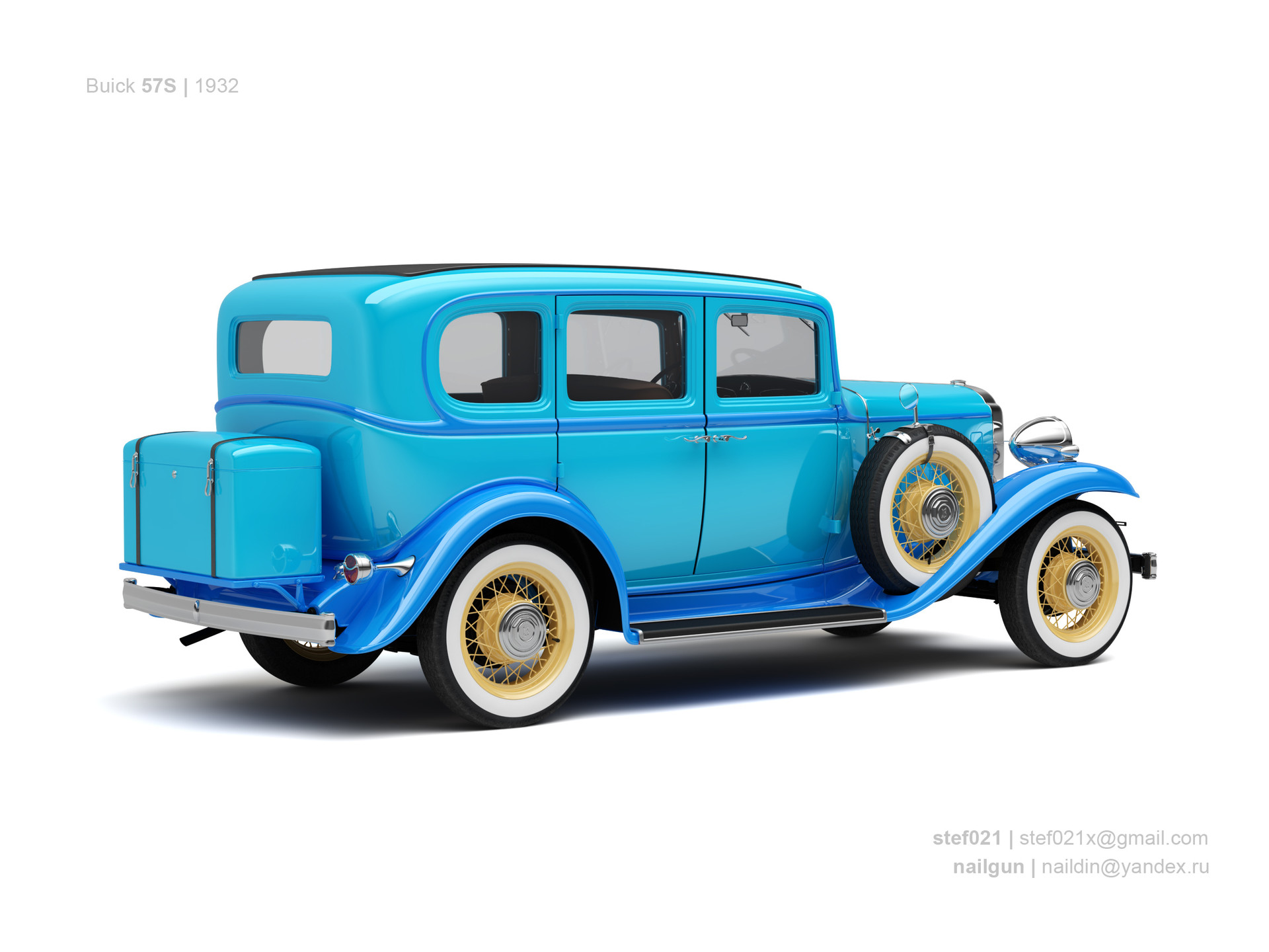 Nail khusnutdinov usa buick 57s 1932 1