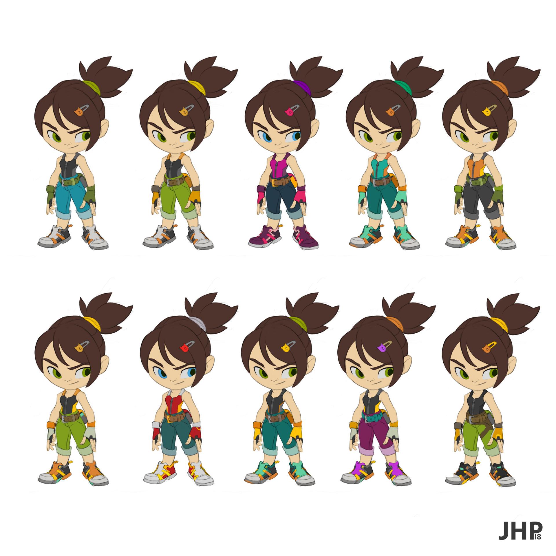 Joao henrique pacheco mecha girl concept cores