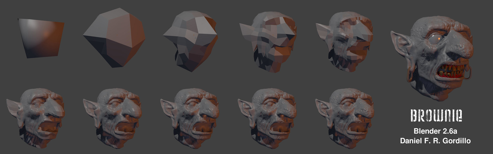Multiresolution sculpting Step by step