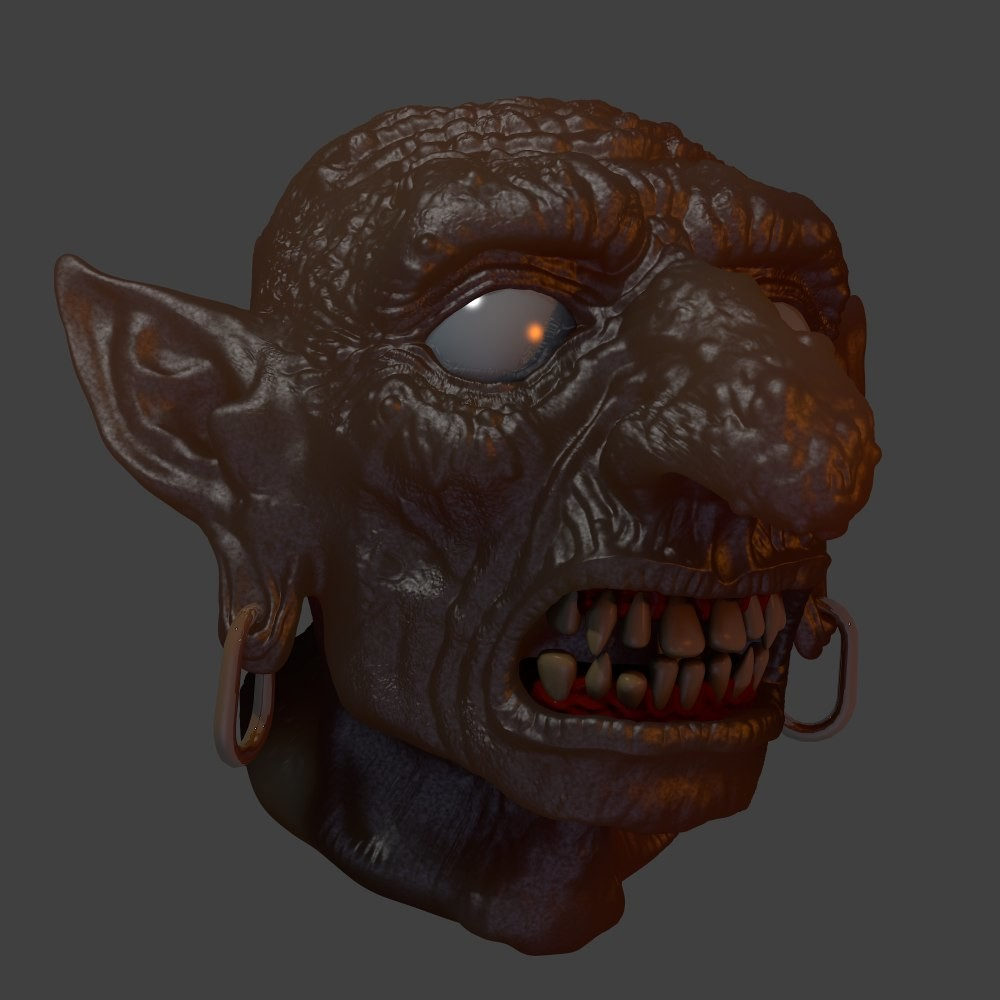 Early Subsurface scattering test