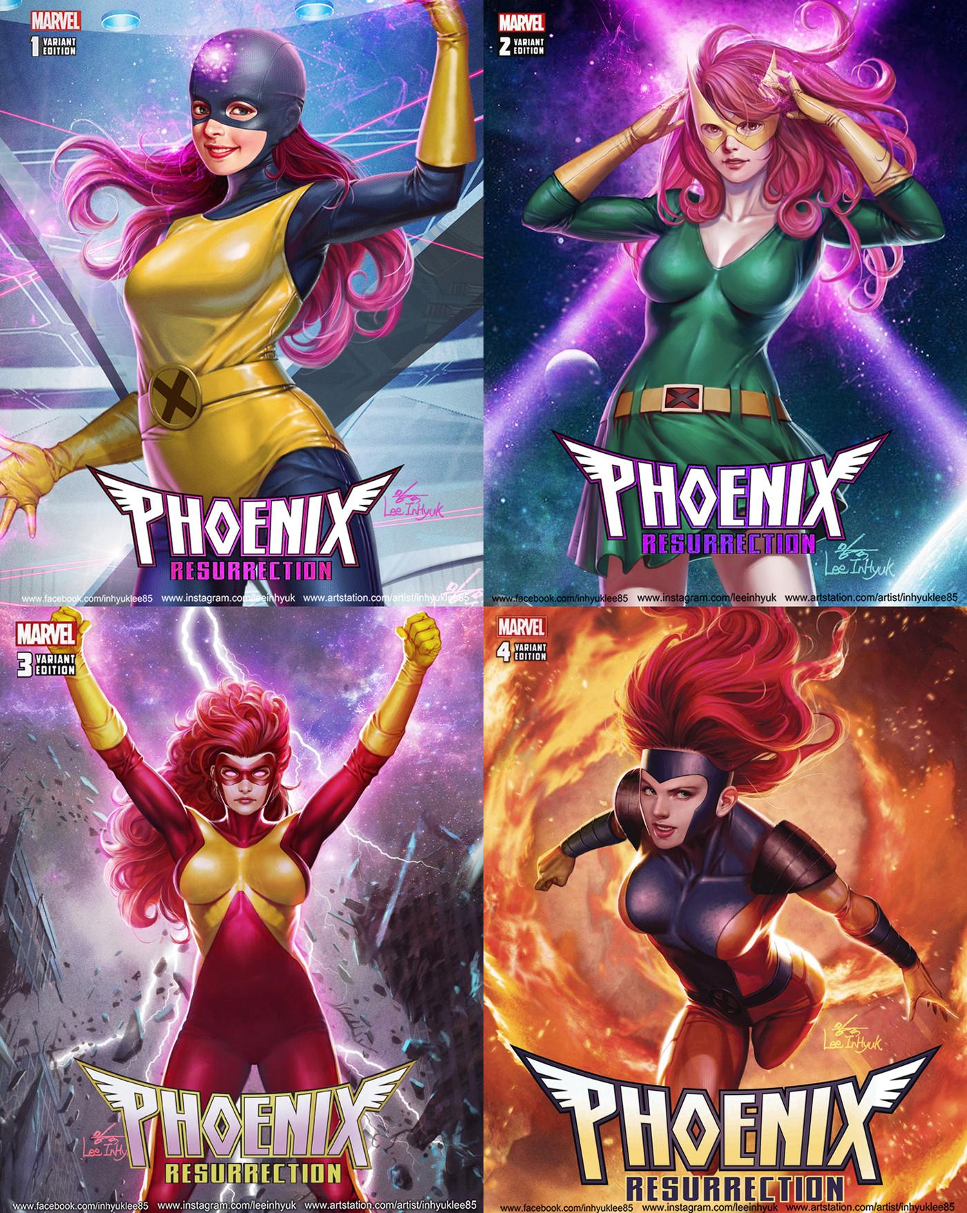 Inhyuk lee phoenix resurrection 1 4