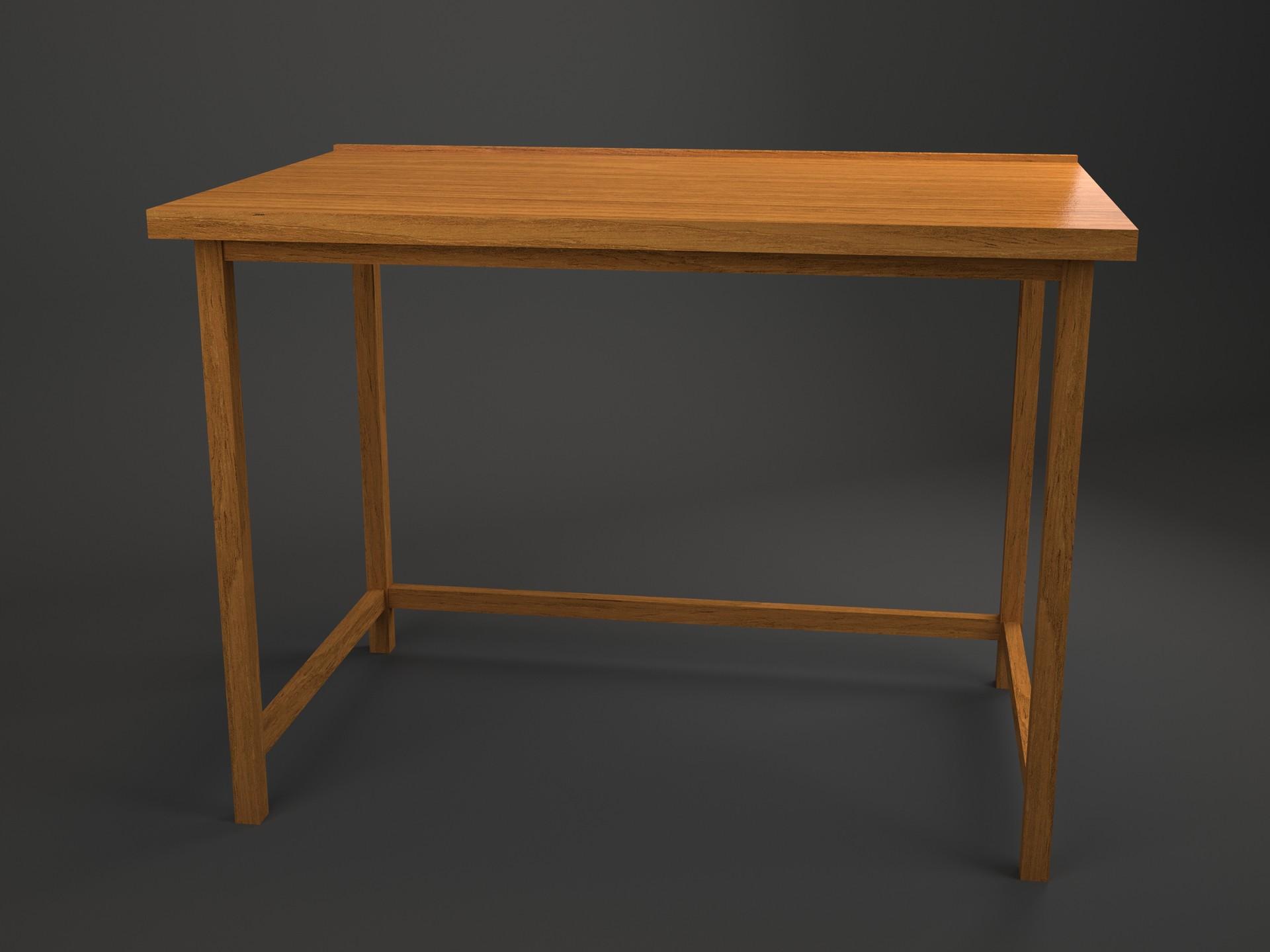 Cara Membuat Meja Kayu