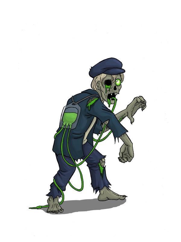 Nick noah kid zombie small