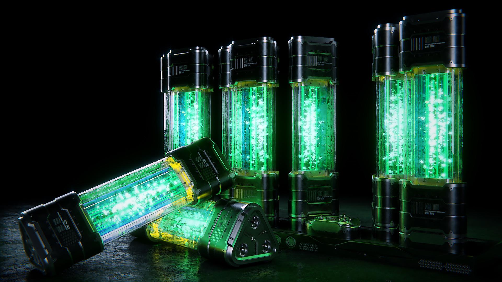 Green ones