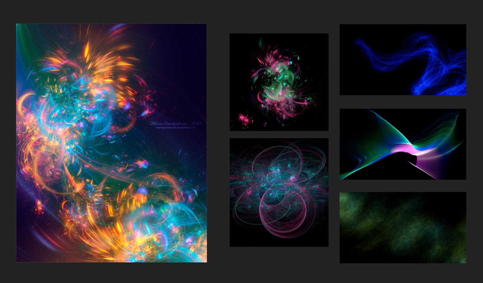 Artstation fractal design maria semelevich httpspsdvaultphoto effectvip exclusive tutorial fractals can evolve art photoshop baditri Gallery