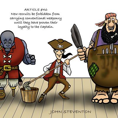 John steventon pirates lineup
