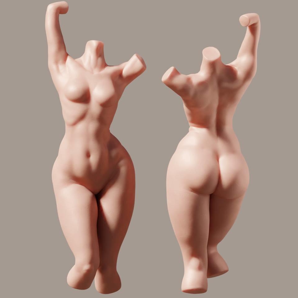 Juan carlos montes female torso