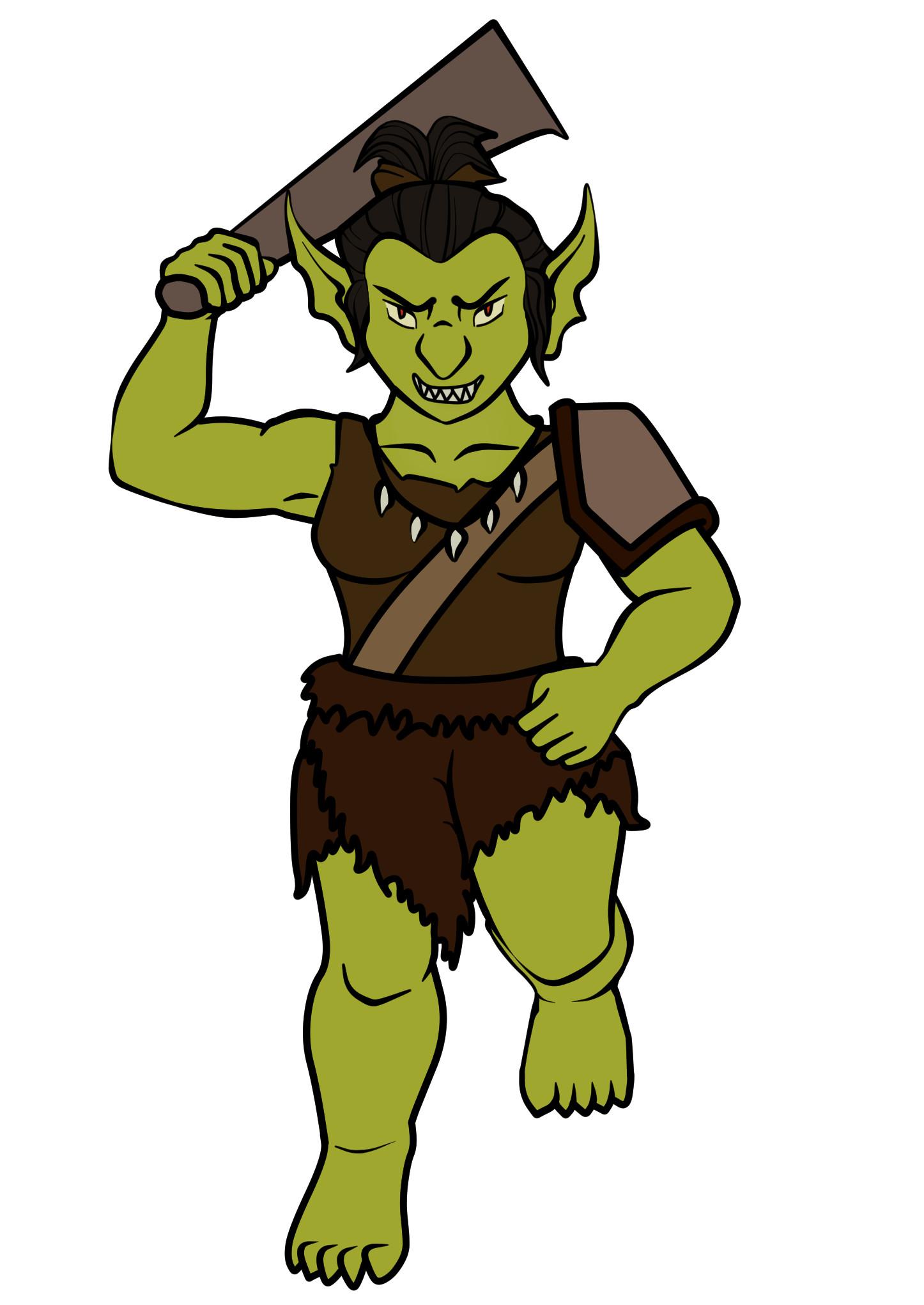 Jessica olney female goblin base colors