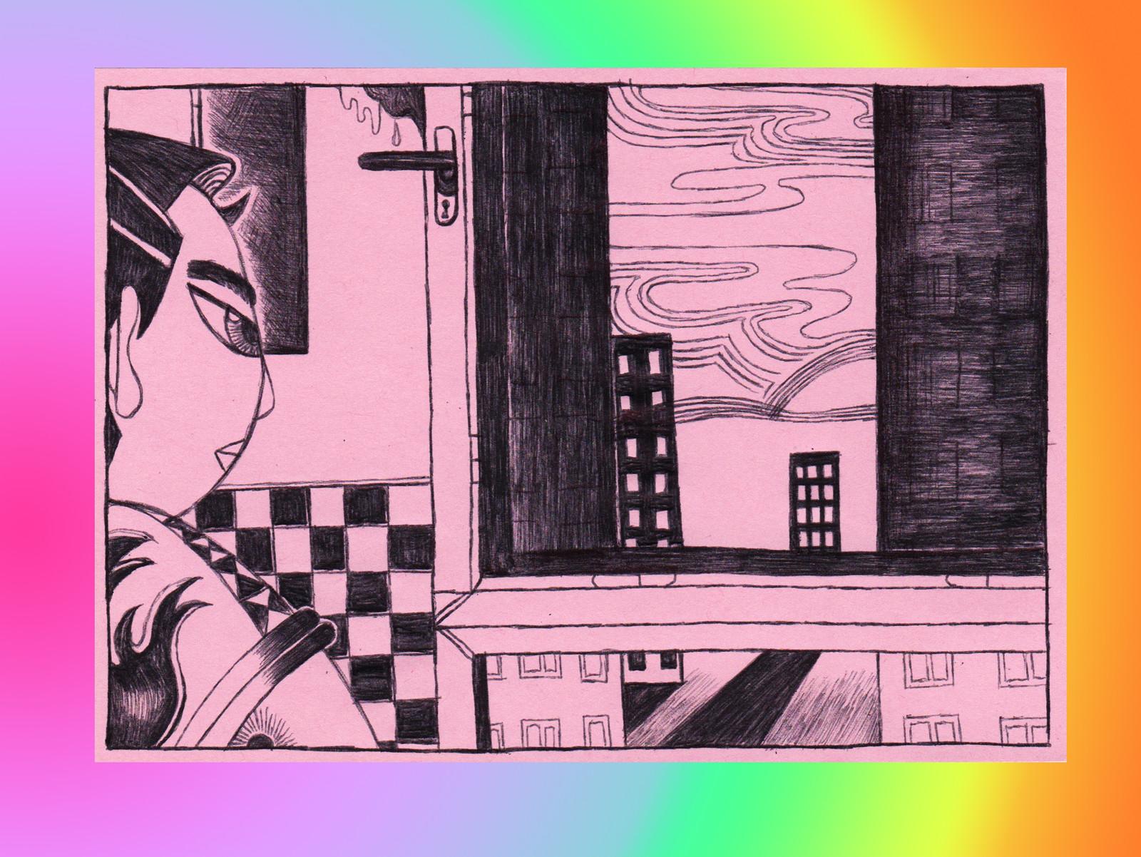 Lucide(?) (series of illustration)