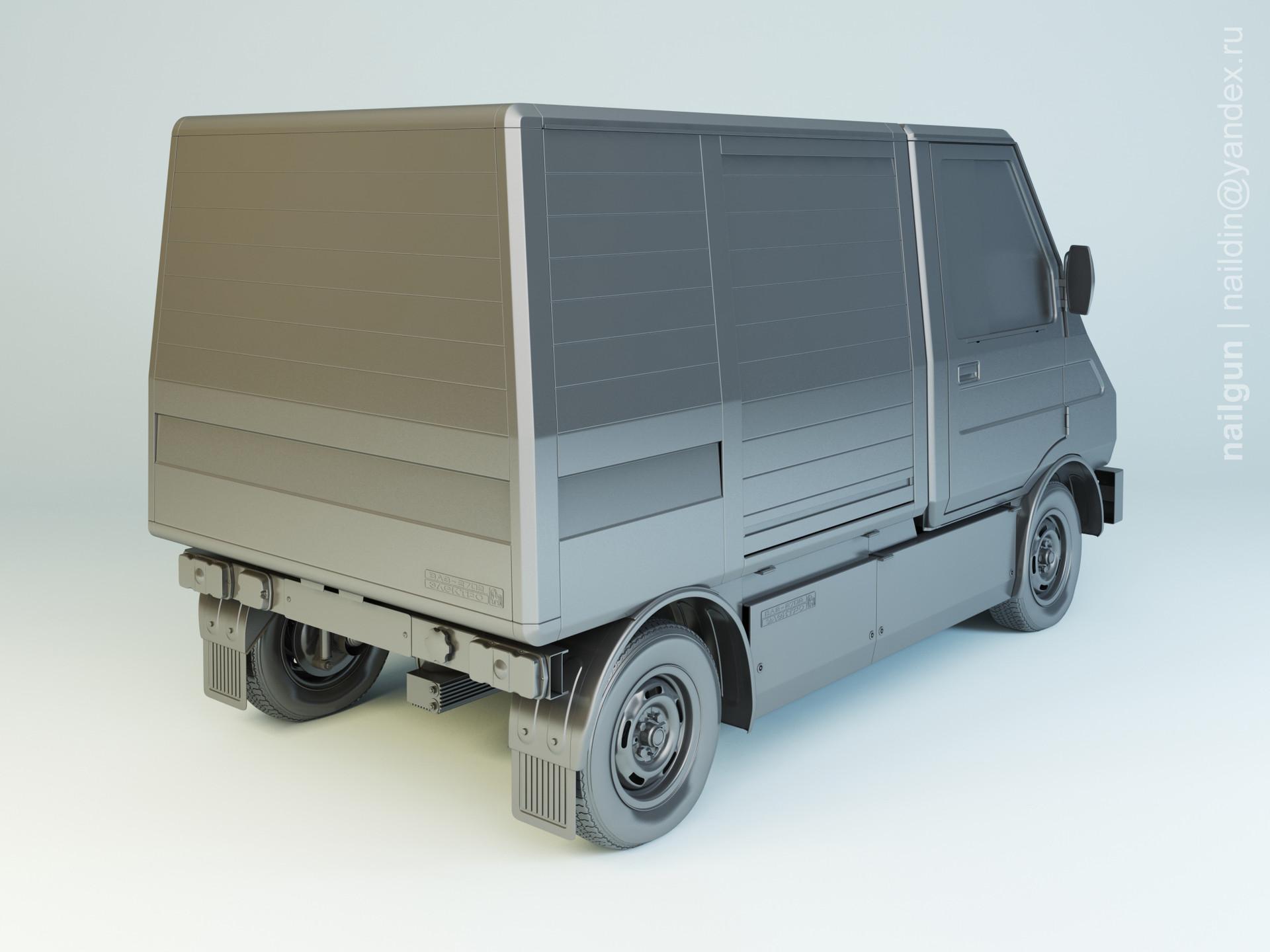 Nail khusnutdinov al 146 001 vaz 2702 poni modelling 1