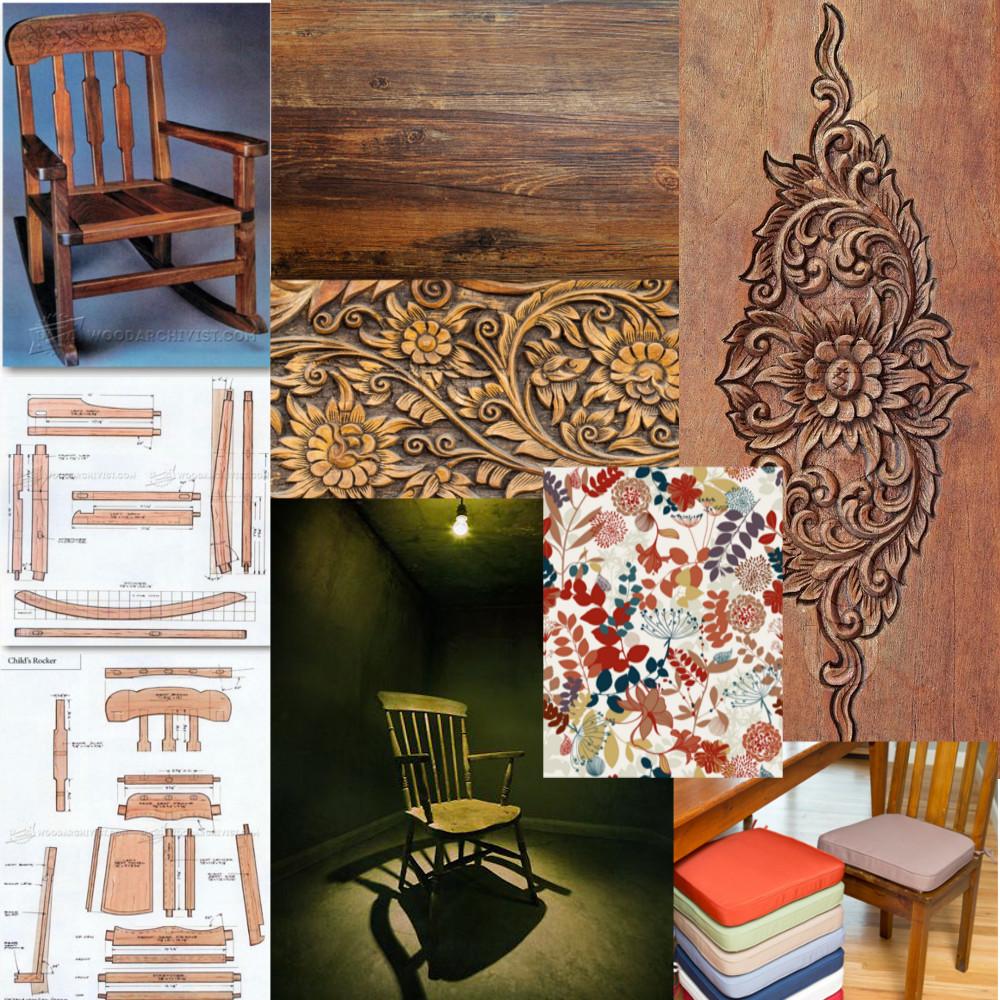 Pleasant Artstation Old Rocking Chair By Rachel Williamson Rachel Short Links Chair Design For Home Short Linksinfo