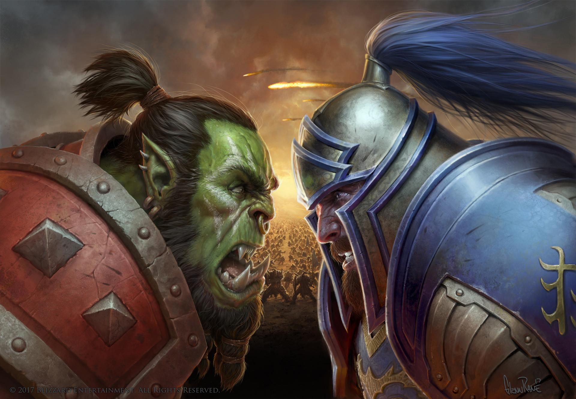 World Of Warcraft Bfa Wallpaper: World Of Warcraft: Battle For Azeroth, Glenn Rane