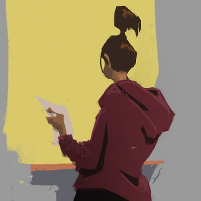 iPhone Paintings: Random People