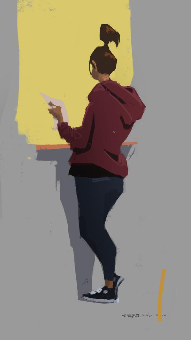 iPhone finger painting: DMV